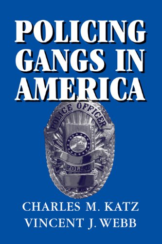 Policing Gangs in America   2006 edition cover