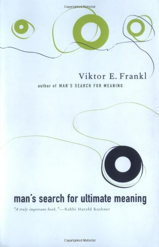 Man's Search for Ultimate Meaning   2000 (Reprint) edition cover