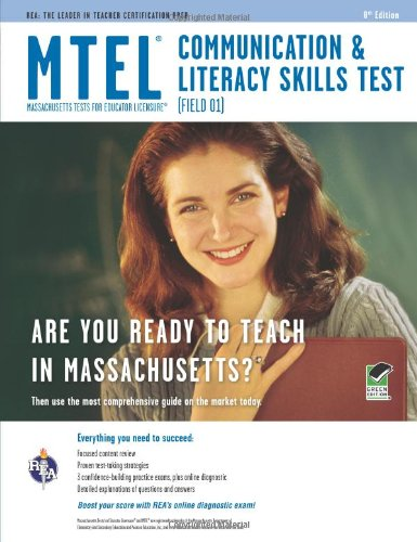 MTEL Communication and Literacy  Skills Test  8th (Revised) edition cover