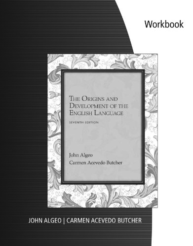 Origins and Development of the English Language  7th 2014 edition cover