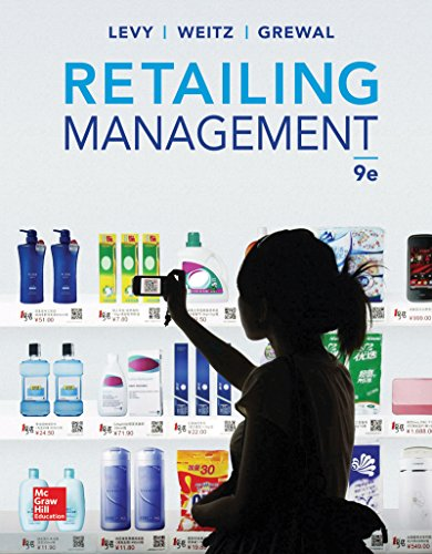 Retailing Management with Connect Plus  9th 2014 edition cover