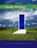 Inside Writing: Form a  2014 edition cover