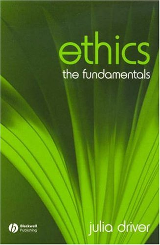 Ethics The Fundamentals  2006 edition cover
