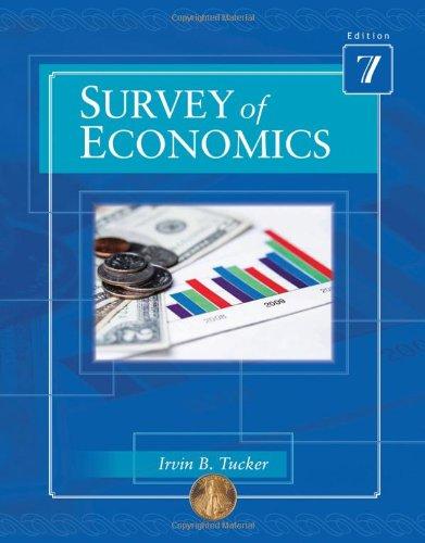 Survey of Economics  7th 2011 edition cover
