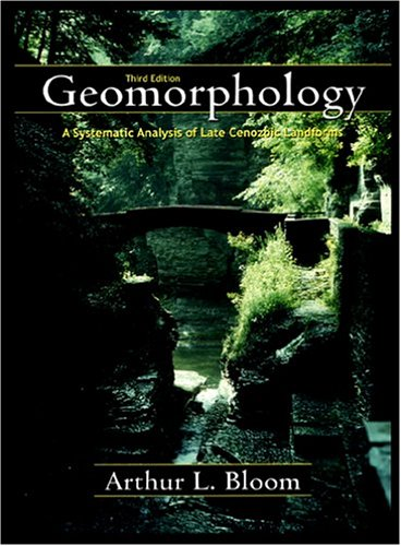 Geomorphology A Systematic Analysis of Late Cenozoic Landforms 3rd 1998 edition cover