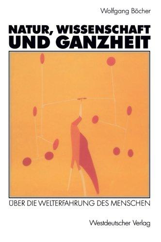 Natur, Wissenschaft und Ganzheit   1992 edition cover