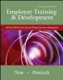 EMPLOYEE TRAINING+DEVELOPMENT>CANADIAN< 1st edition cover