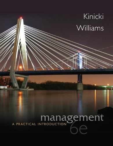 Management A Practical Introduction 6th 2013 9780078029547 Front Cover