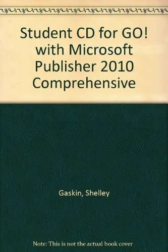 Microsoft Publisher 2010 Comprehensive   2012 9780132792547 Front Cover