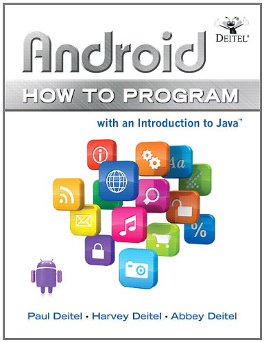 Android How to Program - With an Introduction to Java  2013 edition cover