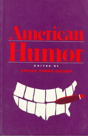 American Humor   1989 9780195050547 Front Cover
