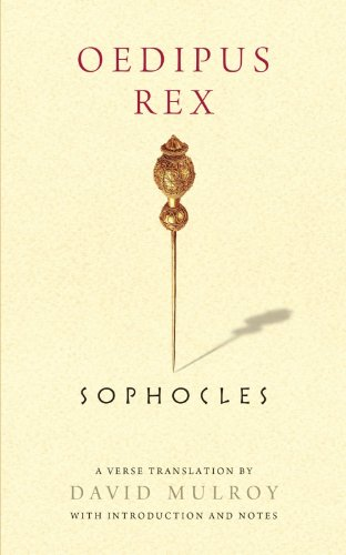 Oedipus Rex   2011 edition cover