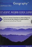 Diversity Amid Globalization Masteringgeography With Pearson Etext Standalone Access Card: World Regions, Environment, Development  2014 edition cover