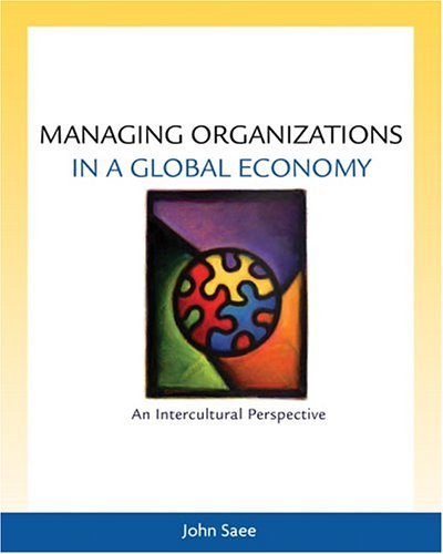 Managing Organizations in a Global Economy An Intercultural Perspective  2005 edition cover