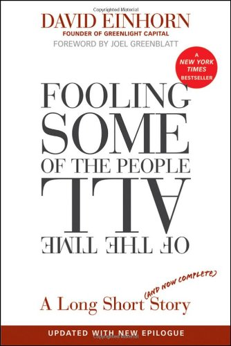Fooling Some of the People All of the Time A Long Short Story  2011 (Revised) edition cover