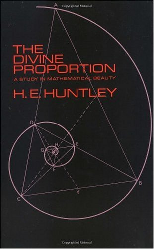 Divine Proportion A Study in Mathematical Beauty  1970 edition cover