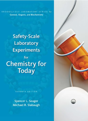 Safety-Scale Laboratory Experiments for Chemistry for Today  7th 2011 9780538734547 Front Cover