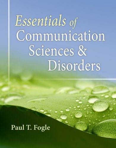 Essentials of Communication Sciences and Disorders   2013 edition cover