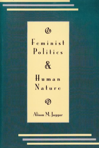 Feminist Politics and Human Nature   1983 edition cover