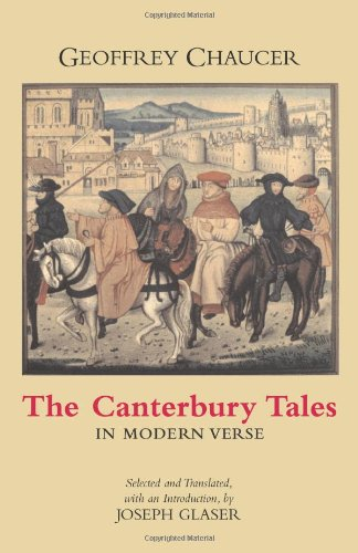 Canterbury Tales in Modern Verse   2005 edition cover