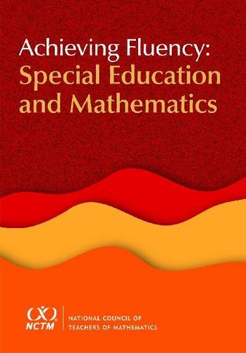 Achieving Fluency Special Education and Mathematics  2011 edition cover