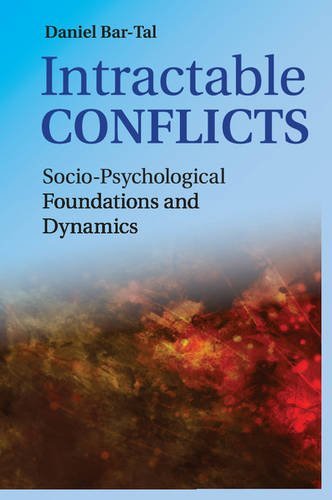 Intractable Conflicts Socio-Psychological Foundations and Dynamics  2015 9781107562547 Front Cover