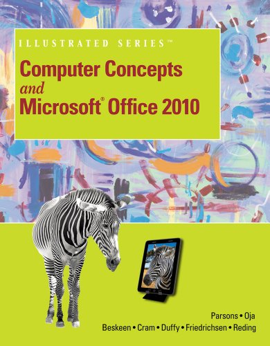 Computer Concepts and Microsoft Office 2010   2013 edition cover