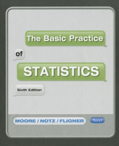 Basic Practice of Statistics  6th 2013 edition cover