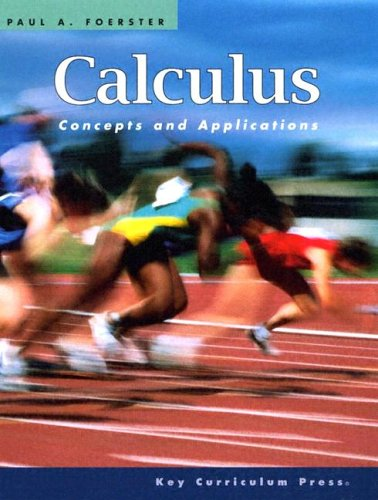 Calculus Concepts and Applications 2nd 2005 (Revised) edition cover