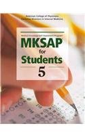 MKSAP for Students 5  5th 2011 edition cover
