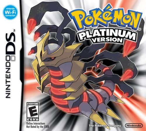 Pokemon Platinum Nintendo DS artwork