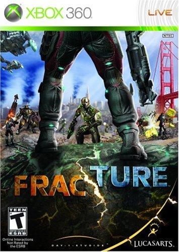 Fracture - Xbox 360 Xbox 360 artwork