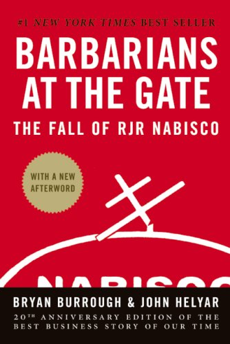 Barbarians at the Gate The Fall of RJR Nabisco N/A 9780061655548 Front Cover