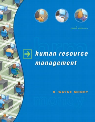 HUMAN RESOURCE MANAGEMENT-W/CD 10th 2008 edition cover