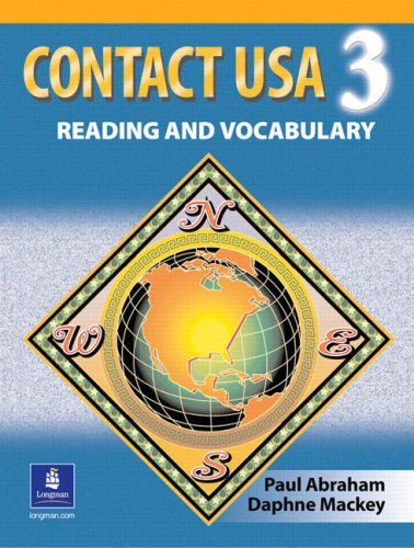 Contact USA A Reading and Vocabulary Text 3rd 1997 edition cover