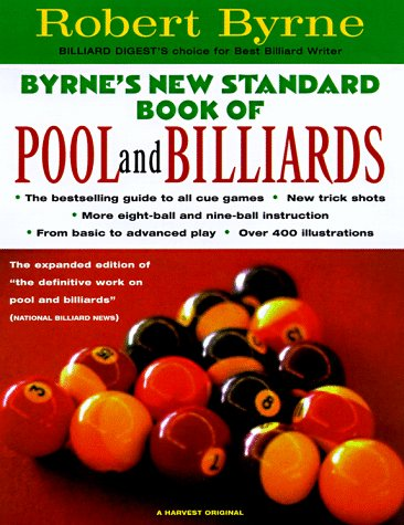Byrne's New Standard Book of Pool and Billiards  2nd 1998 edition cover