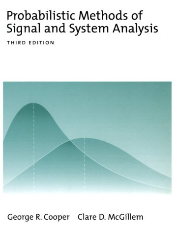 Probabilistic Methods of Signal and System Analysis  3rd 1998 (Revised) edition cover