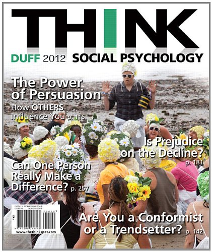 THINK Social Psychology 2012 Edition   2012 edition cover
