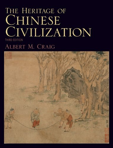 Heritage of Chinese Civilization  3rd 2011 (Revised) edition cover
