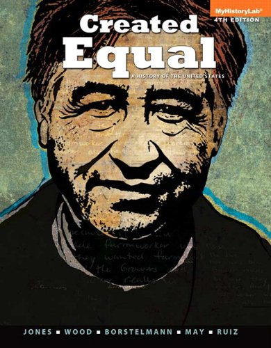 Created Equal A History of the United States, Volume 2 4th 2014 edition cover