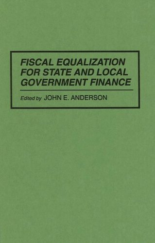 Fiscal Equalization for State and Local Government Finance   1994 9780275946548 Front Cover