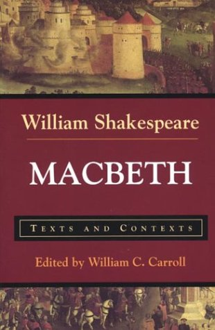 Macbeth Texts and Contexts  1999 edition cover