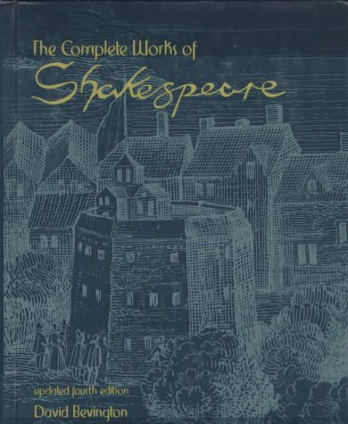Complete Works of Shakespeare  4th 1997 edition cover