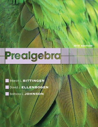 Prealgebra  6th 2012 (Revised) edition cover