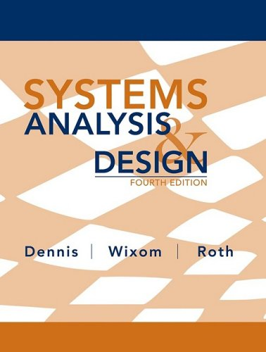 Systems Analysis and Design  4th 2009 edition cover