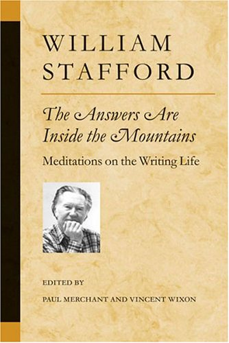 Answers Are Inside the Mountains Meditations on the Writing Life  2003 edition cover