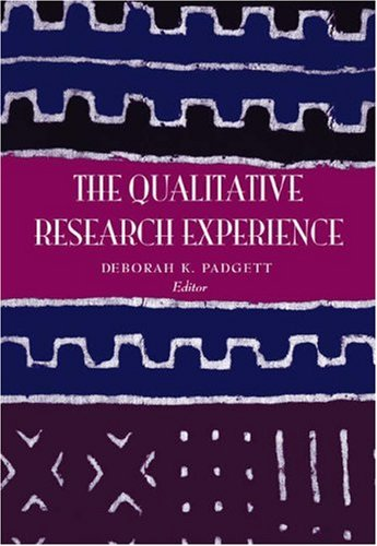 Qualitative Research Experience   2004 (Revised) edition cover