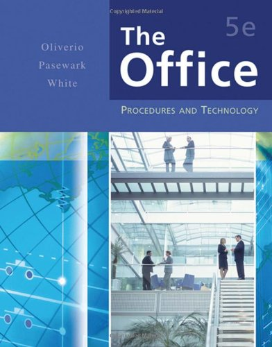 Office Procedures and Technology 5th 2007 (Revised) 9780538443548 Front Cover