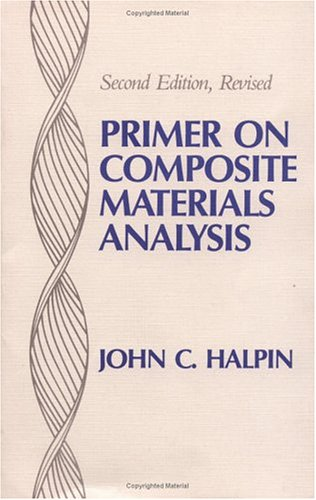 Primer on Composite Materials Analysis  2nd 1992 (Revised) edition cover