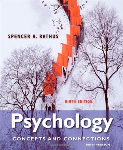 Psychology Concepts and Connections, Brief Version 9th 2013 edition cover